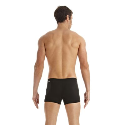 Speedo Monogram Mens Aquashorts 2014 Black White Back