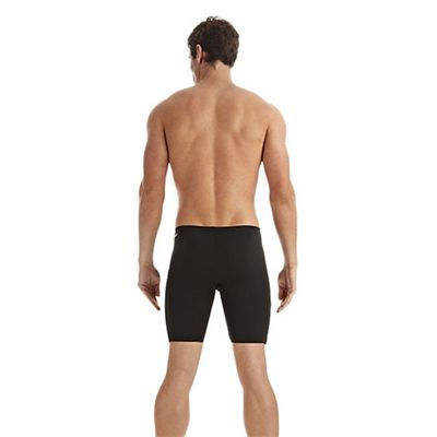 Speedo Monogram Mens Jammer Black White Back
