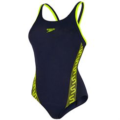 Speedo Monogram Muscleback Ladies Swimsuit AW15