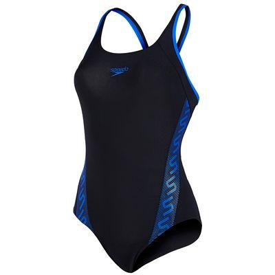 Speedo Monogram Muscleback Ladies Swimsuit AW16