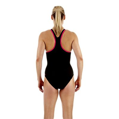 Speedo Monogram Racerback Ladies Swimsuit Back