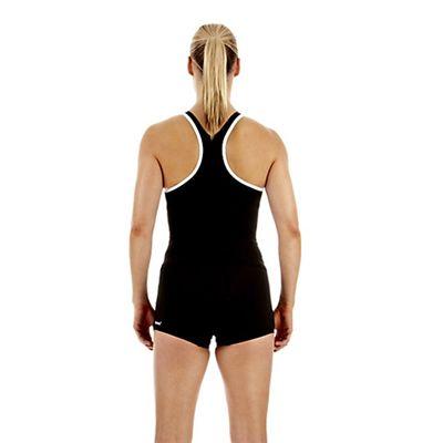 Speedo Monogram Tankini Boyleg Ladies Swimsuit Back