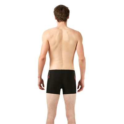 Speedo Placement Mens Aquashorts - Back View