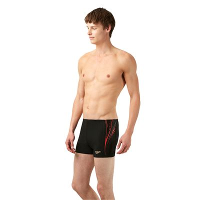 Speedo Placement Mens Aquashorts - Side View