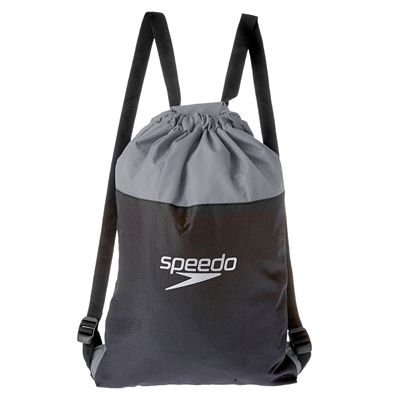 Speedo Pool Bag-Black-Grey