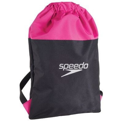 Speedo Pool Bag-Grey-Pink-Image