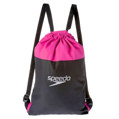 Speedo Pool Bag-Grey-Pink