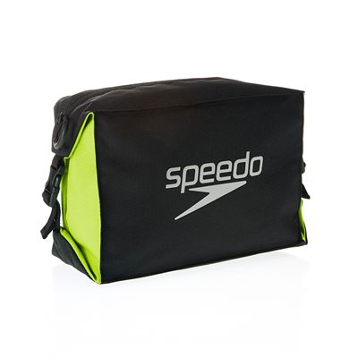 Speedo Pool Side Bag-Black-Yellow-Image1
