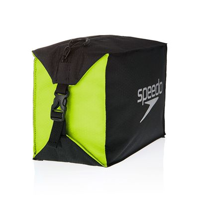 Speedo Pool Side Bag-Black-Yellow-Image2