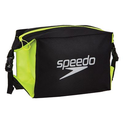 Speedo Pool Side Bag-Black-Yellow