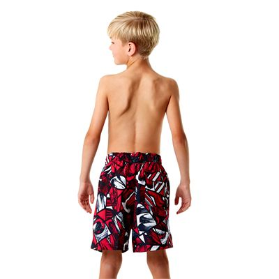Speedo Printed Leisure 15 Inch Boys Watershorts Back View