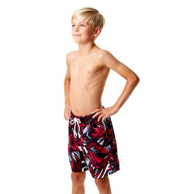 Speedo Printed Leisure 15 Inch Boys Watershorts Left Side View