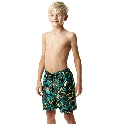 Speedo Printed Leisure 15 Inch Boys Watershorts - Side