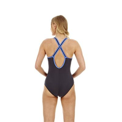 Speedo Pureshape 1 Piece Ladies Swimsuit - Back view