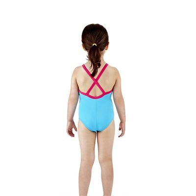 Speedo Rainmelody Thinstrap 1 Piece Infant Girls Swimsuit Back