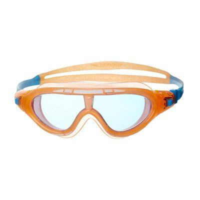 Speedo Rift Junior Swimming Goggles - Orange and Blue