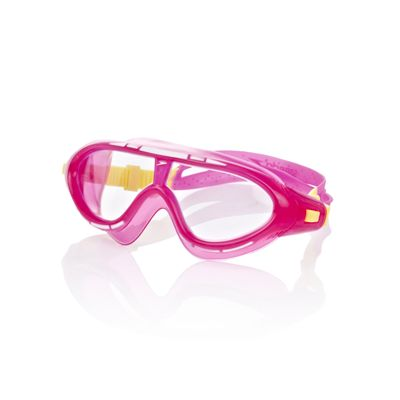 Speedo Rift Junior Swimming Goggles - Pink and Yellow
