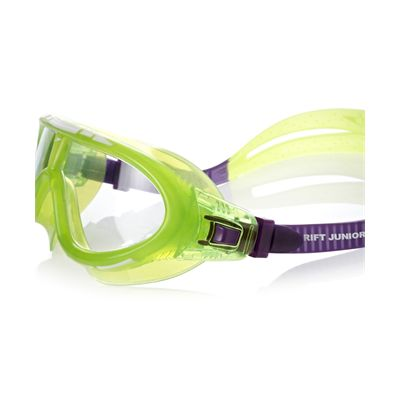 Speedo Rift Junior Swimming Goggles-green-close