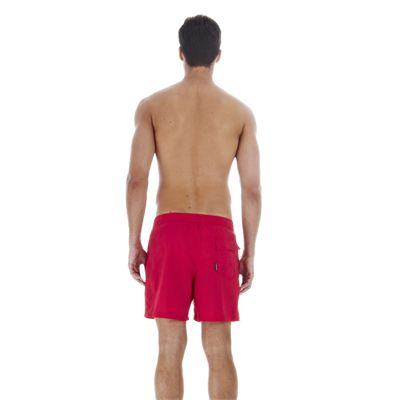 Speedo Scope 16 Inch Mens Watershort - Red - Back View