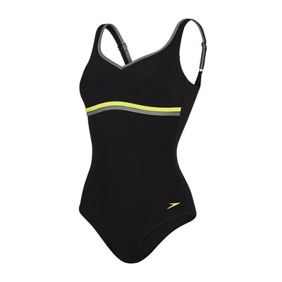 Speedo Sculpture Contourluxe 1 Piece Ladies Swimsuit AW17 - Black