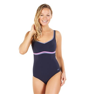 Speedo Sculpture Contourluxe 1 Piece Ladies Swimsuit AW17 - Front