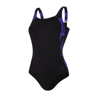 Speedo Sculpture LunaLustre 1 Piece Ladies Swimsuit SS18 - Costume