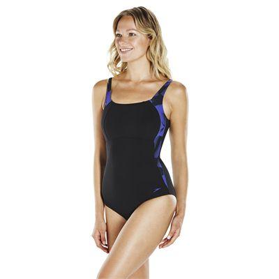 Speedo Sculpture LunaLustre 1 Piece Ladies Swimsuit SS1
