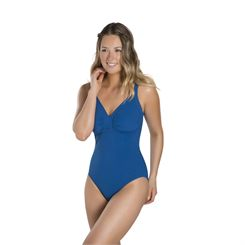 Speedo Sculpture Watergem 1 Piece Ladies Swimsuit SS17