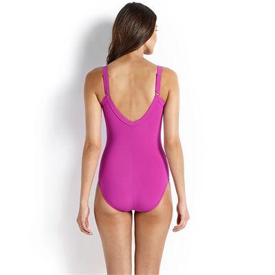 Speedo Sculpture Watergem Ladies Swimsuit 2016-Back