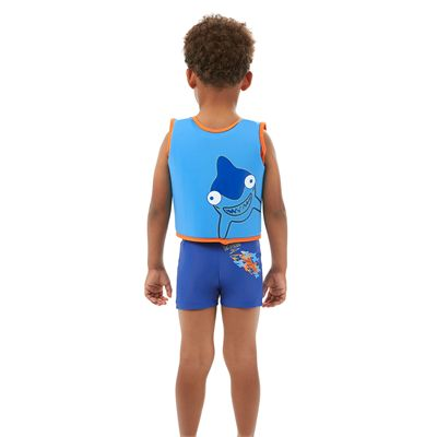 Speedo Sea Squad Boys Swimming Vest-Back View