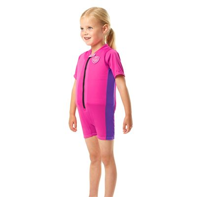 Speedo Sea Squad Girls Floatsuit-Side View