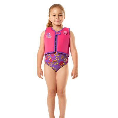 Speedo Sea Squad Girls Swimming Vest-Front View