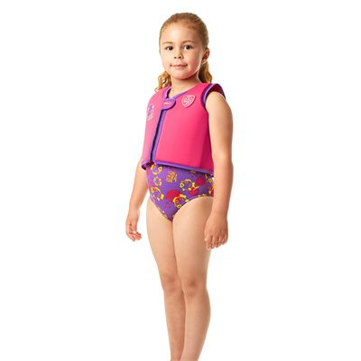 Speedo Sea Squad Girls Swimming Vest-Side View