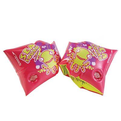 Speedo Sea Squad Junior Armbands Pink