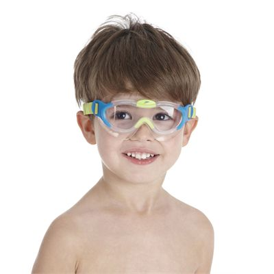 Speedo Sea Squad Junior Swimming Mask - Blue/Green