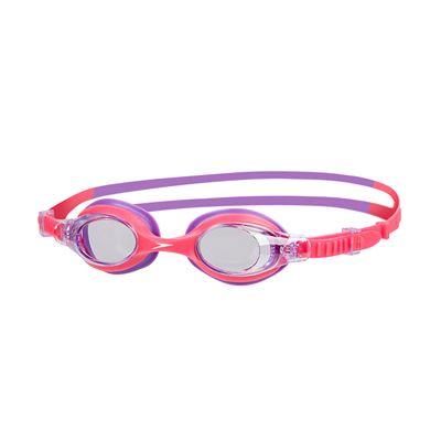 Speedo Sea Squad Skoogle Junior Swimming Goggles-Pink-Purple