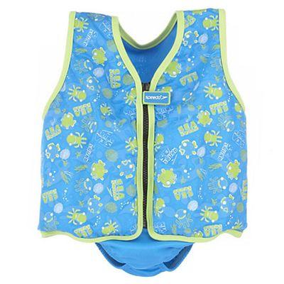 Speedo Sea Squad Swim Vest Blue Green