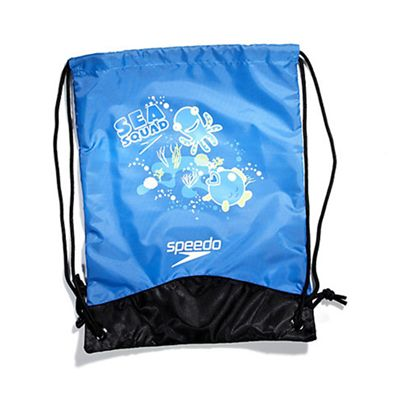 Speedo Sea Squad Wet Kit Bag Blue flat