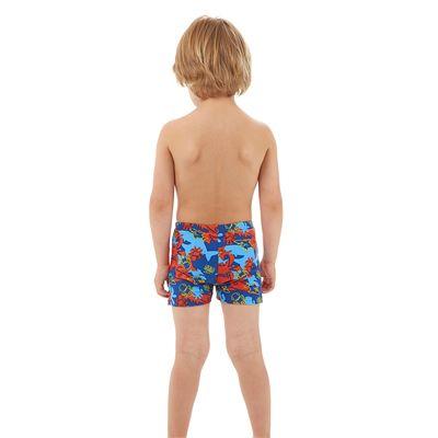 Speedo Seasquad Allover Boys Aquashorts - Back View