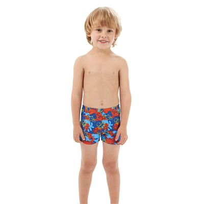 Speedo Seasquad Allover Boys Aquashorts - Front View