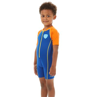 Speedo Seasquad Hot Tot Boys Sun Protection Suit - Side