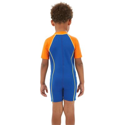Speedo Seasquad Hot Tot Boys Sun Protection Suit - Back