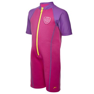 Speedo Seasquad Hot Tot Girls Sun Protection Suit