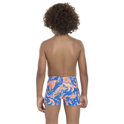 Speedo Solarpop Essential Allover Infant Boys Aquashorts - Back