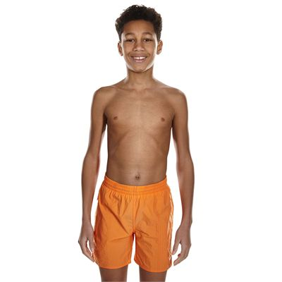 Speedo Solid Leisure 15 Inch Boys Watershort AW17 - Front