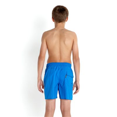 Speedo Solid Leisure 15 Inch Boys Watershorts SS14 Back View