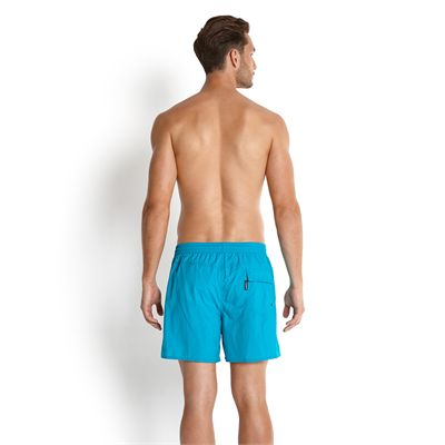 Speedo Solid Leisure 16in Mens Watershorts-Back View