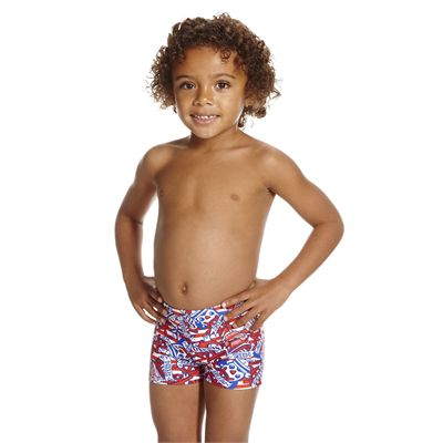 Speedo Space Traveller Essential Allover Infant Boys Aquashorts - Angled