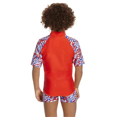Speedo Space Traveller Essential Infant Boys Suntop - Back