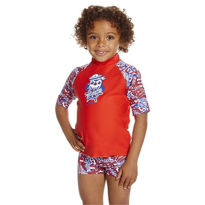 Speedo Space Traveller Essential Infant Boys Suntop - Front
